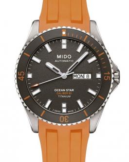 Reloj para hombre MIDO OCEAN STAR 200 AUTOMÁTICO caja de Titanio