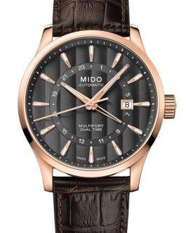 Reloj para hombre MIDO MULTIFORT DUAL TIME AUTOMÁTICO