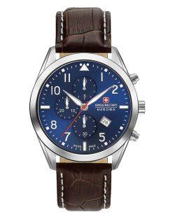 Reloj suizo para hombre Swiss Military Hanowa Helvetus Chrono Dial Azul