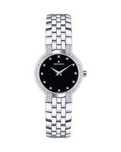 Reloj de pulsera para mujer Movado Faceto Diamond