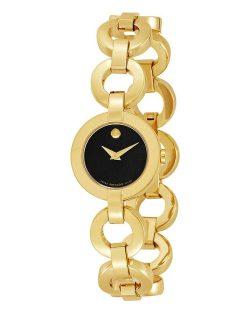 Reloj de pulsera para mujer MOVADO Bela Collection Oro