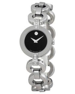 Reloj de pulsera para mujer MOVADO Bela Collection Plata