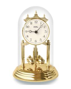 Reloj de mesa con cúpula AMS con sistema de cuarzo