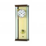 Reloj de pared AMS de péndulo con acabado en madera