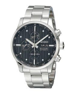 Reloj Cronógrafo Automático de pulsera para hombre Mido Multifort